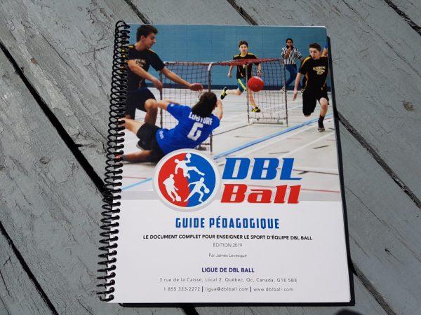 Couverture Guide Pédagogique du DBL Ball
